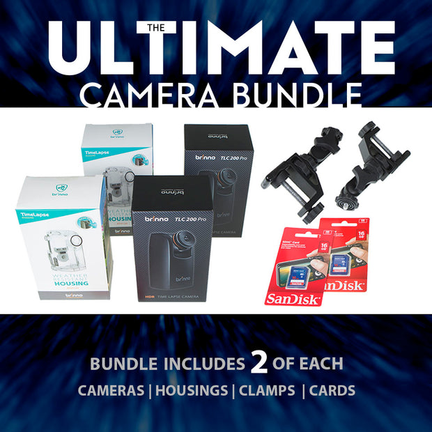 Brinno Time-Timelapse Camera Ultimate Bundle