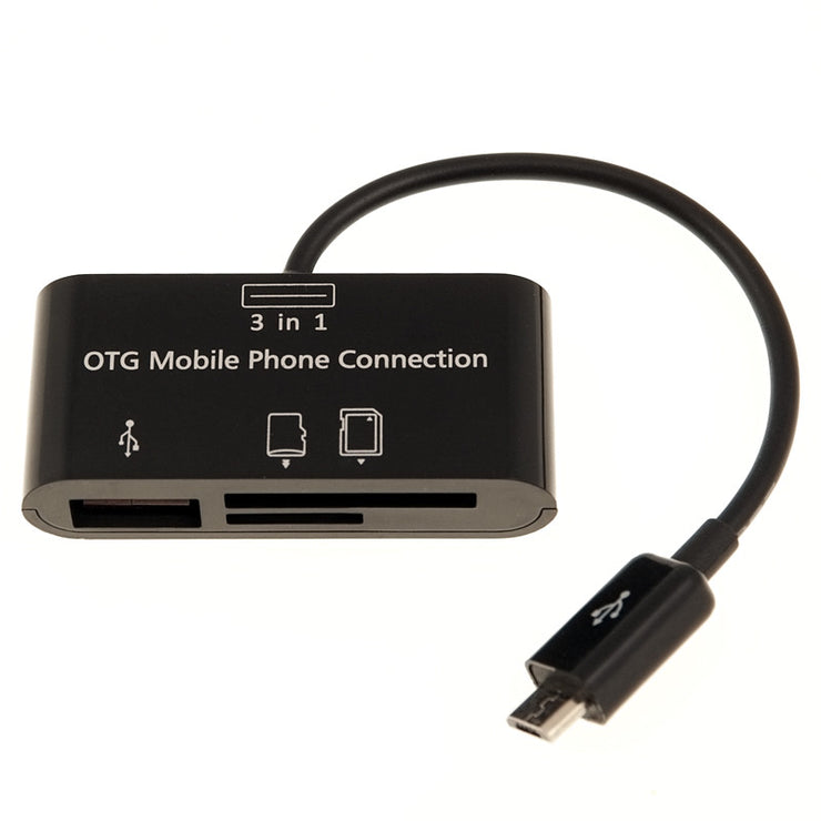 Micro USB OTG Card Reader for Android Phones - TimeLapseCameras