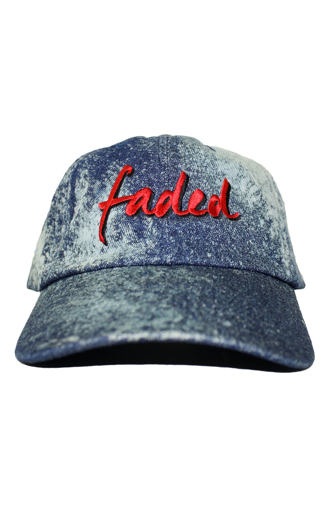FADED BLEACH DAD HAT