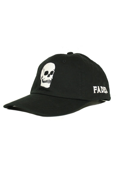 FADED SKULL BLACK DAD HAT