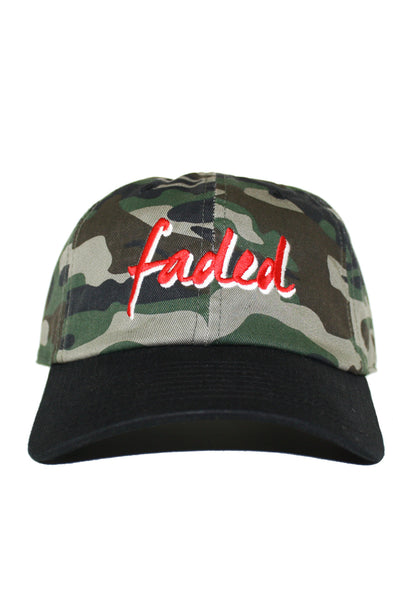 2 TONE FADED DAD HAT
