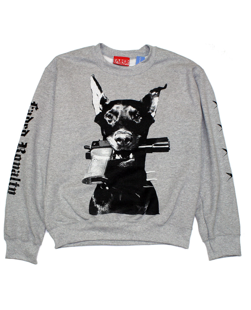 DOBERMAN CREWNECK