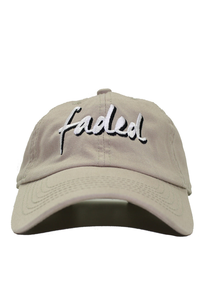 FADED KHAKI DAD HAT