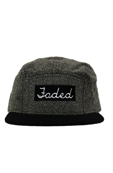 FADED 5 PANEL HAT