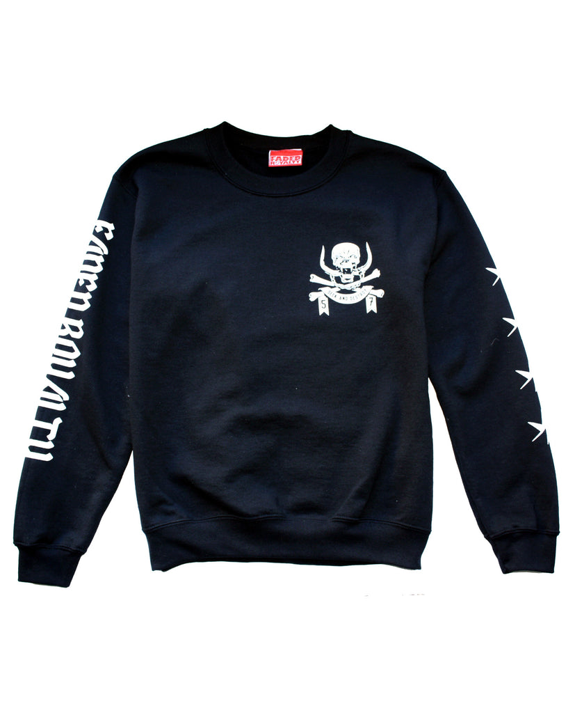 SEEK AND DESTROY CREWNECK