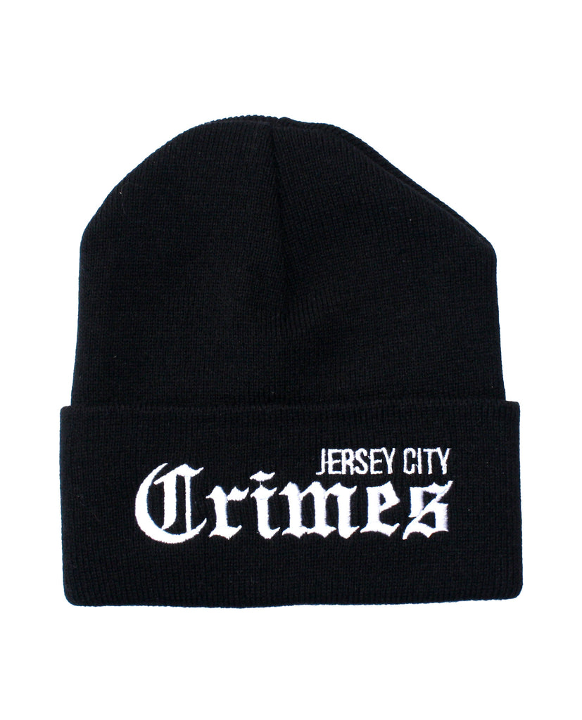JERSEY CITY CRIMES BEANIE