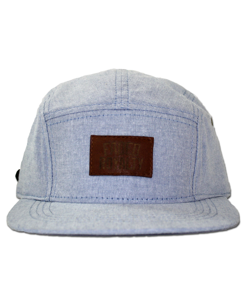 OXFORD / LEATHER 5 PANEL