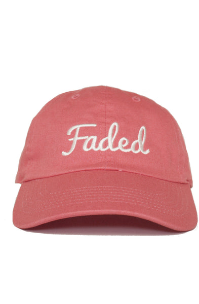 FADED SCRIPT - BUBBLEGUM - DAD HAT