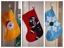 Handmade Christmas stocking, Ginger cookie