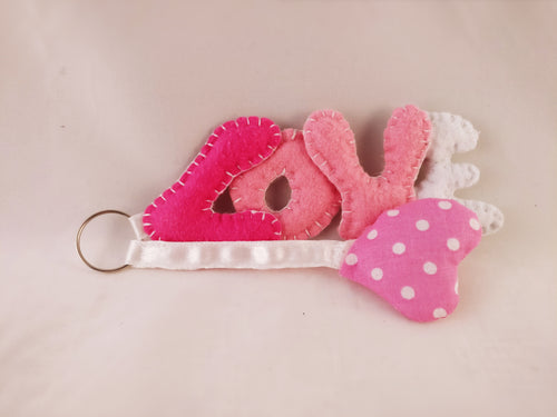 Love key-ring