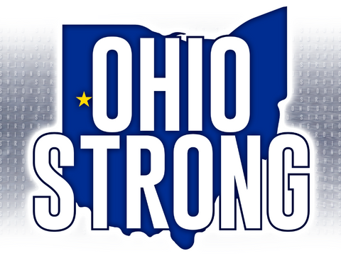 """OHIO STRONG"" Yard sign - SALE $5"