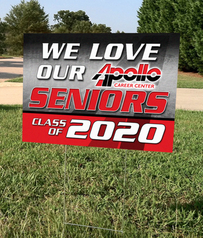 We Love Our Seniors - Apollo Class of 2020