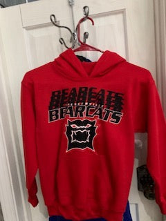 Stacked Bearcats Cotton Hoodie