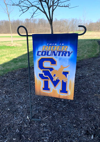 """This is Rider Country"" Garden Flag - 12""x18"""