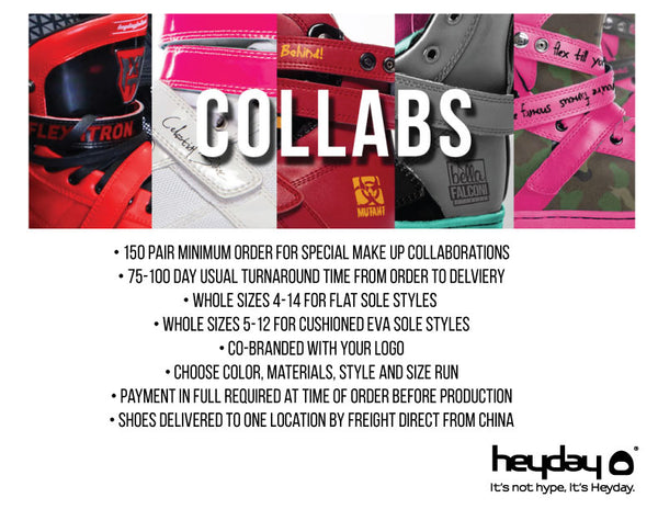 Heyday Footwear Collabs