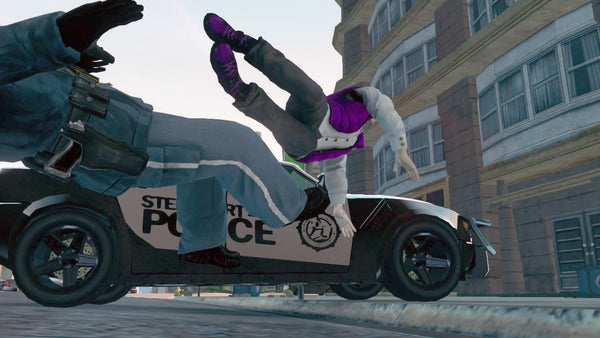 Purple Python Heyday Footwear High Top Sneakers from Saints Row 3
