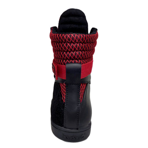 Image of PRE-ORDER Black/Red Tactical Trainer 3.0 High Top Sneakers for Bodybuilding