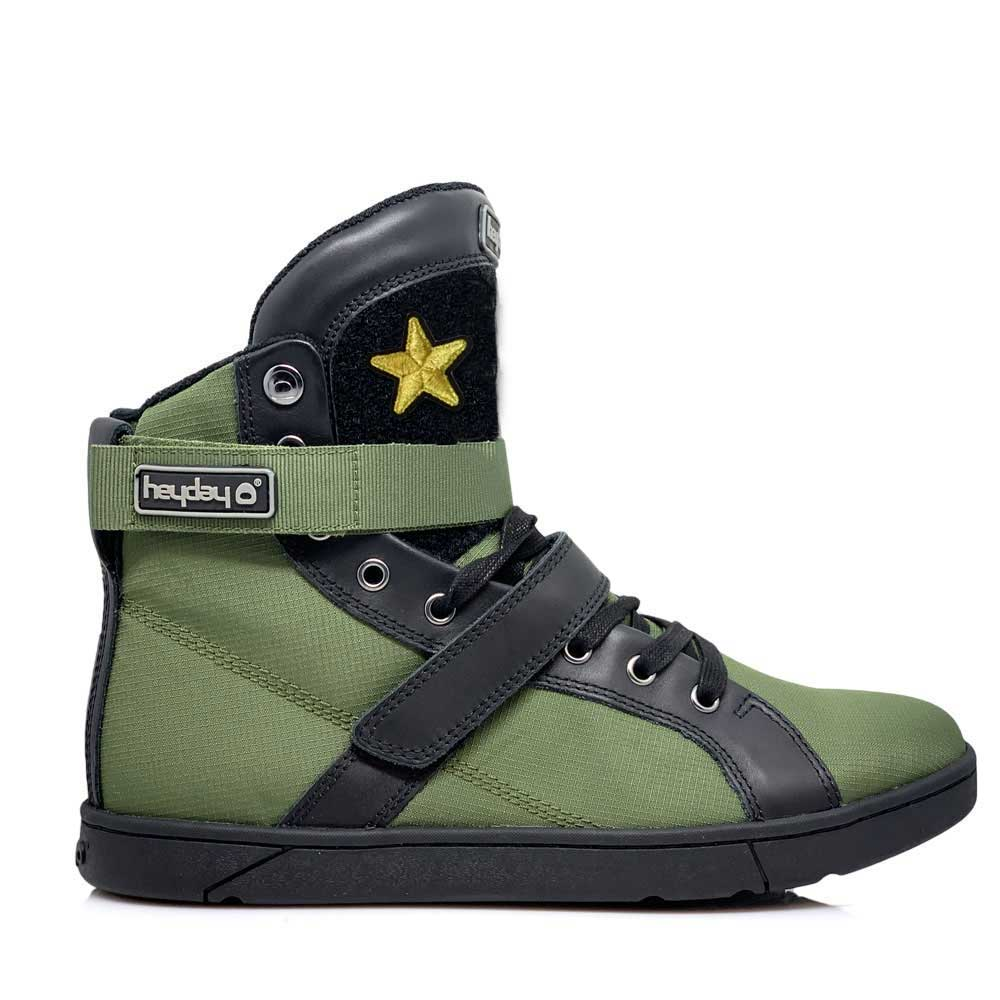 180149c43dbd  MyHeyday Olive Black Super Shift Bodybuilding High Top Sneakers