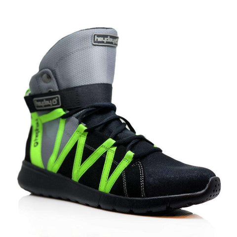 Heyday Footwear Sneakers Grey/Black/Volt Super Freak 2.0 High Top Sneakers for Bodybuilding