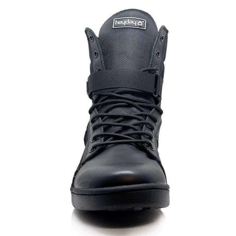 Heyday Footwear Sneakers #MyHeyday Black Tactical Trainer 2.0 High Top Sneakers for Bodybuilding