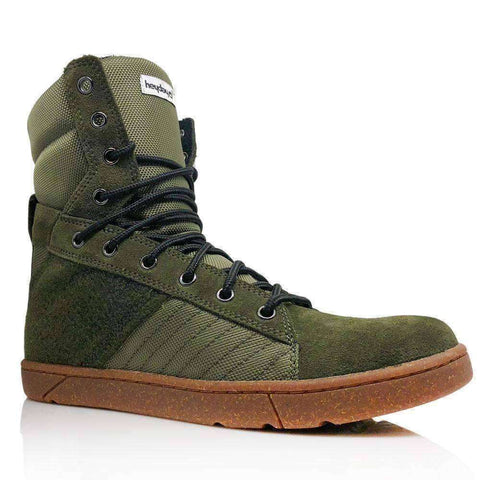 Image of Heyday Footwear Sneakers #MyHeyday Olive Tactical Trainer 2.0 High Top Sneakers