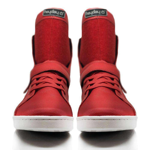Heyday Footwear Sneakers #MyHeyday Red Super Shift Bodybuilding High Top Sneakers