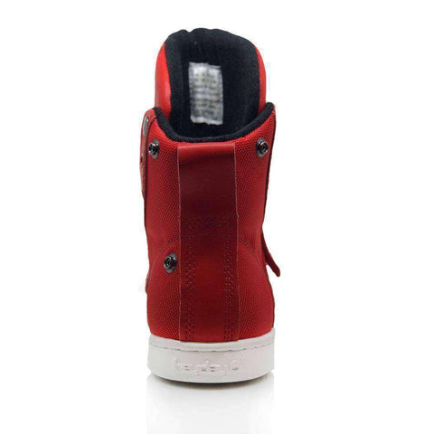 Image of Heyday Footwear Sneakers #MyHeyday Red Super Shift Bodybuilding High Top Sneakers