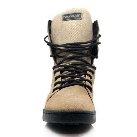 5866fe04b7 ... Image of Heyday Footwear Sneakers  MyHeyday Sand Black Tactical Trainer  2.0 High Top Sneakers ...
