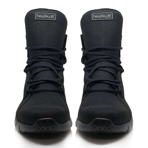 Heyday Footwear Sneakers Black Ninja Super Freak 2.0 High Top Sneaker for Bodybuilding and Cardio and Bodybuilding