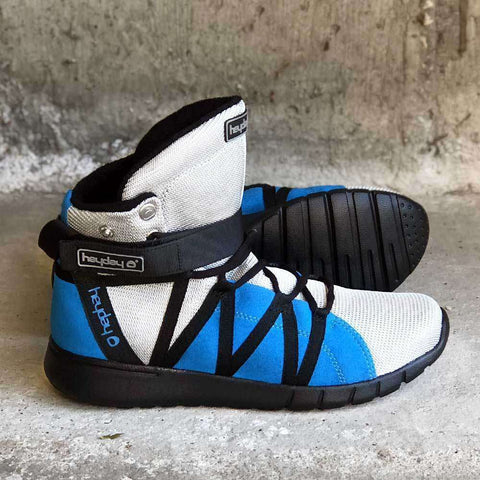 Silver/Blue/Black Super Freak 2.0 High Top Sneaker for Cardio and Bodybuilding