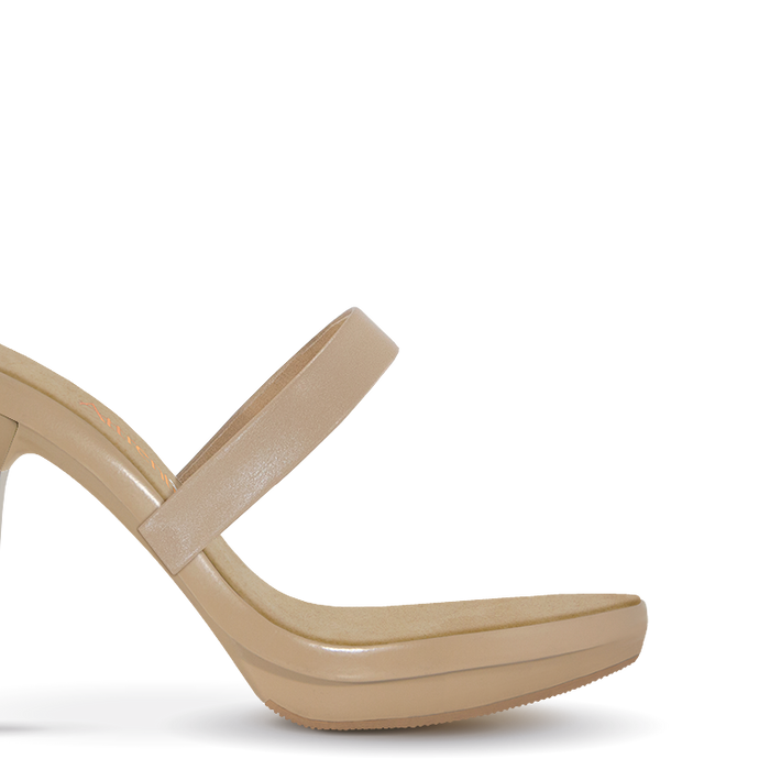 Nude Mary Jane Strap