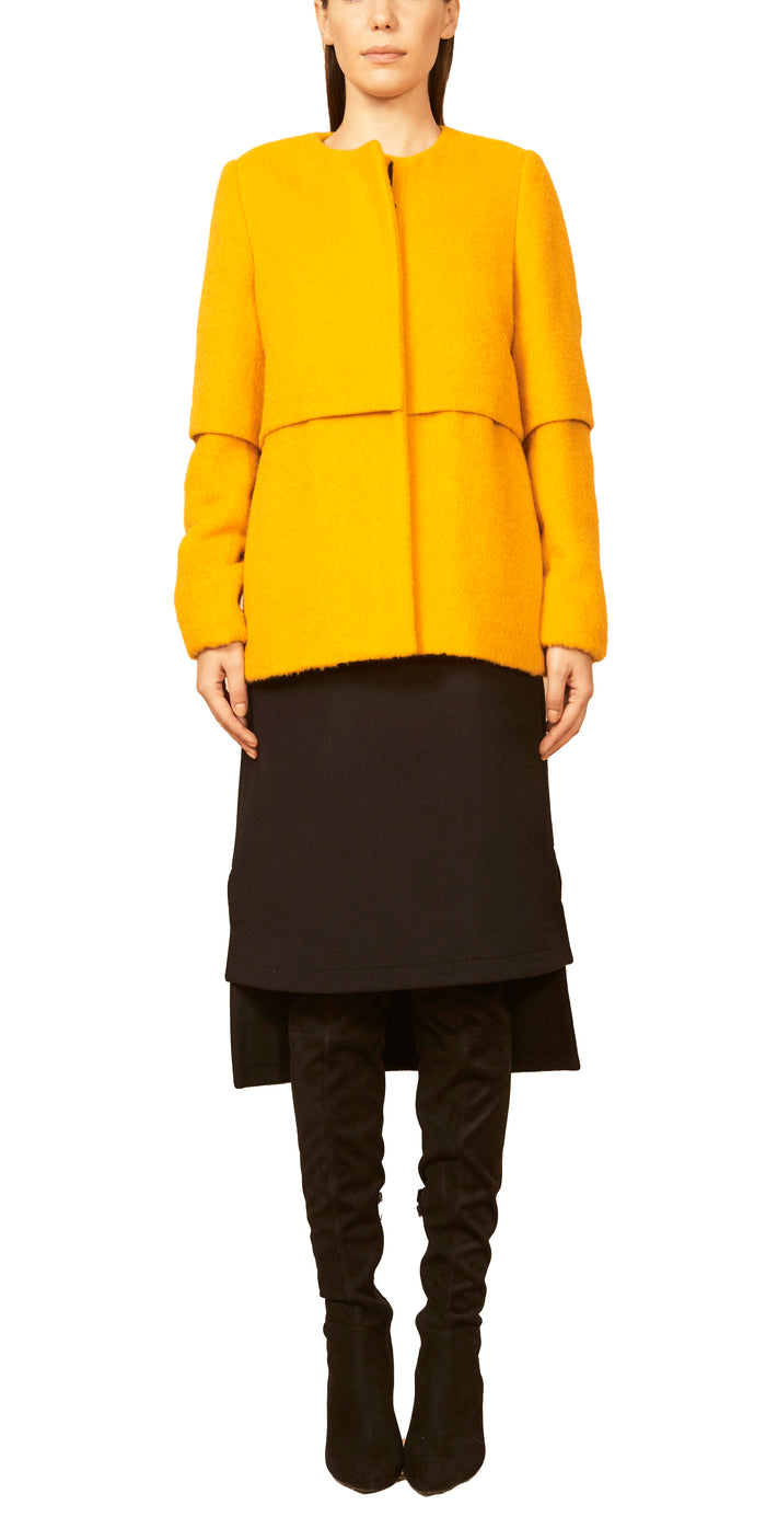 The Car Coat Extra Small / Morning Yellow Jacket