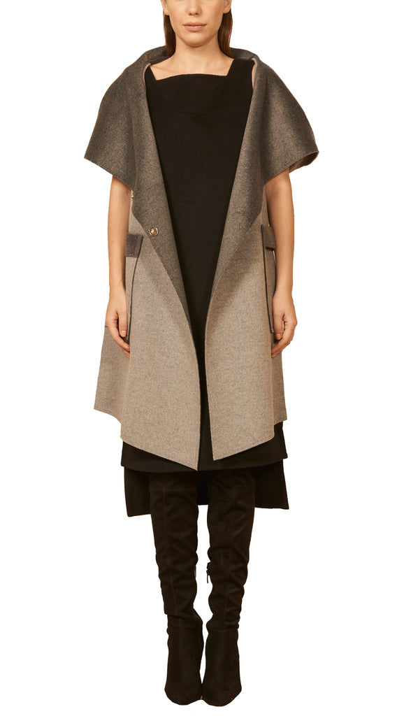 The Single Seam Vest Coat