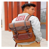 Faux Leather Backpack - UnsualThings