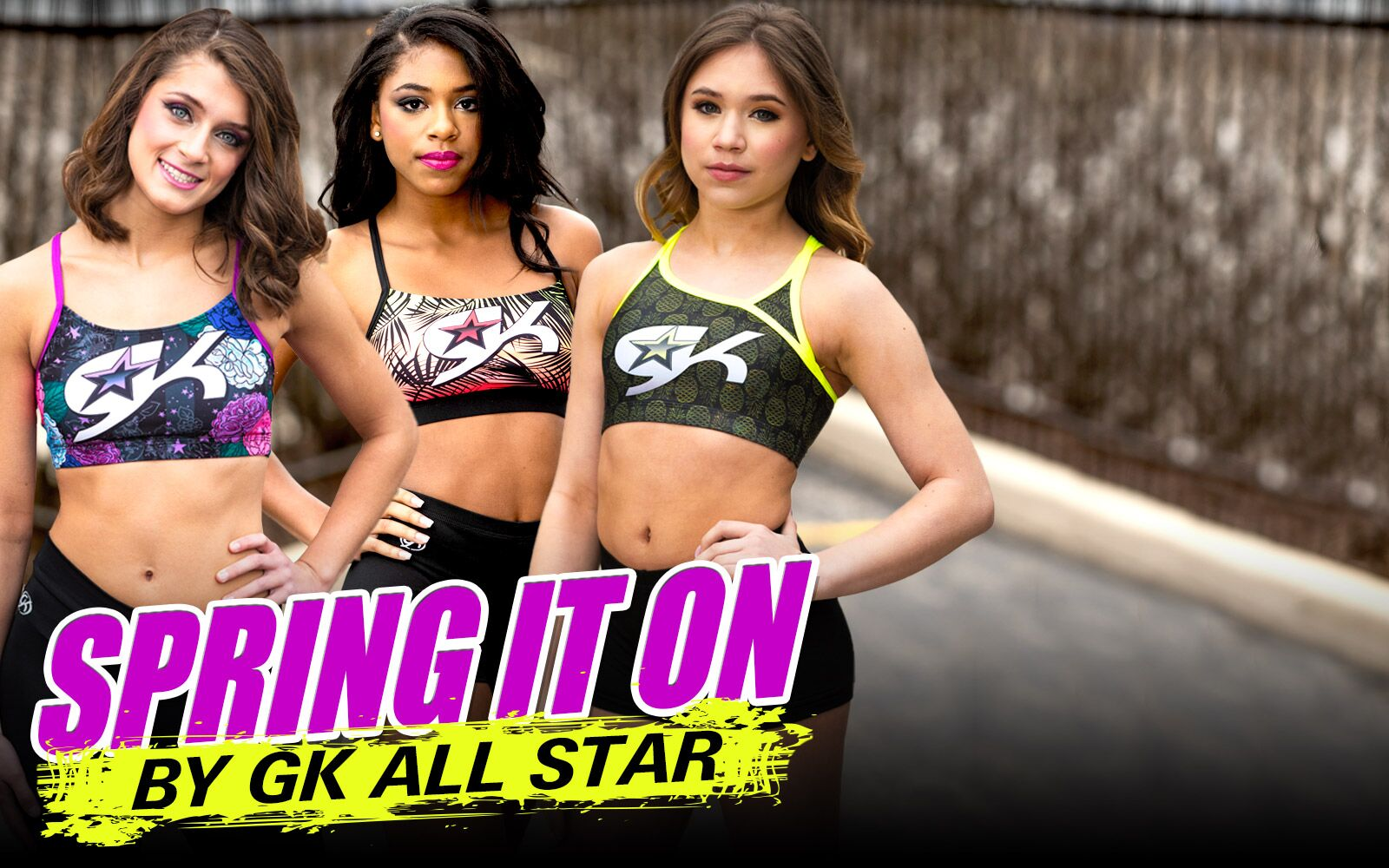 GK All Star <br>        Cheer's New <br>        Collection
