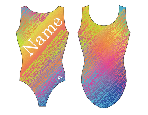 Casey/'s Colors of the World Gymnastics personalization