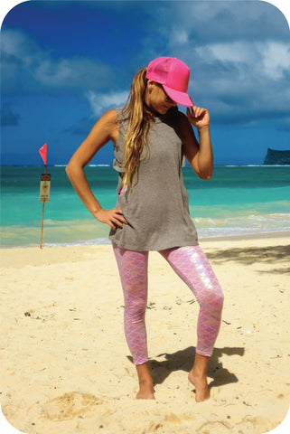 Beachery Shiny Mermaid Leggings