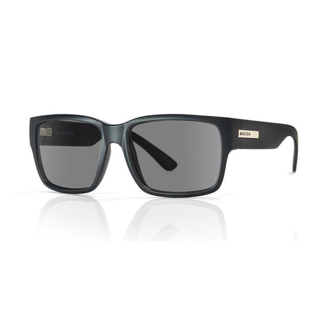 Madson Sunglasses Classico Black Matte/PC Grey