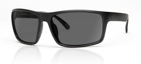 Madson Sunglasses Fairway Black Matte/Grey Polarized
