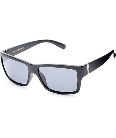 Madson Sunglasses Wisdom Black Matte/Grey Polarized