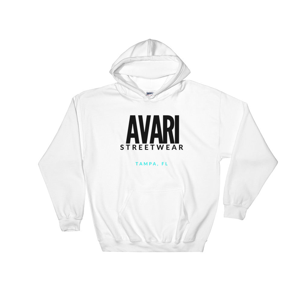 Avari Tampa Turquoise Hoodie - Avari Collection
