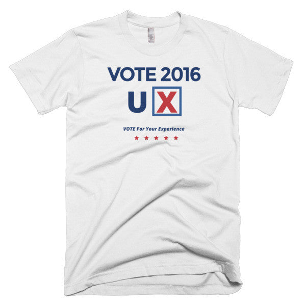 Vote 2016 UX t-shirt (men's)