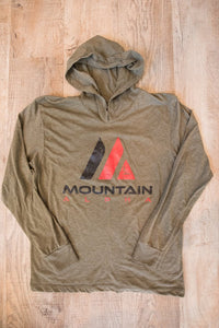 Clearance Logo Hoodie (Mountain Green)