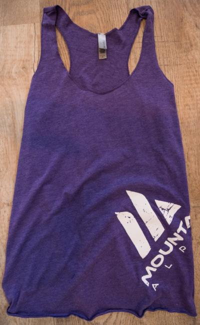 Women's Racer Back (Pure Purple)