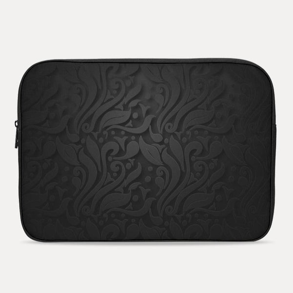 Ornamental Flower Laptop Sleeve - ComfiArt