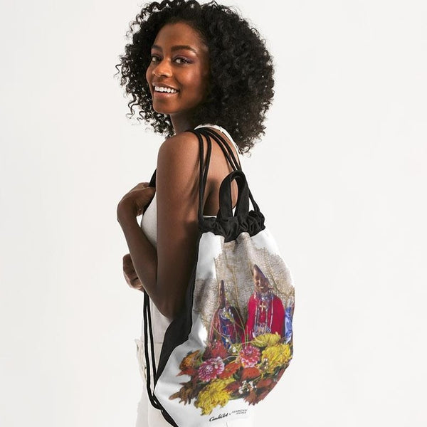 Generational Wealth Canvas Drawstring Bag - ComfiArt
