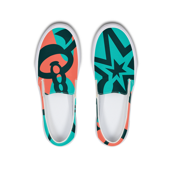 Love-bomb Slip-On Canvas Shoe - ComfiArt