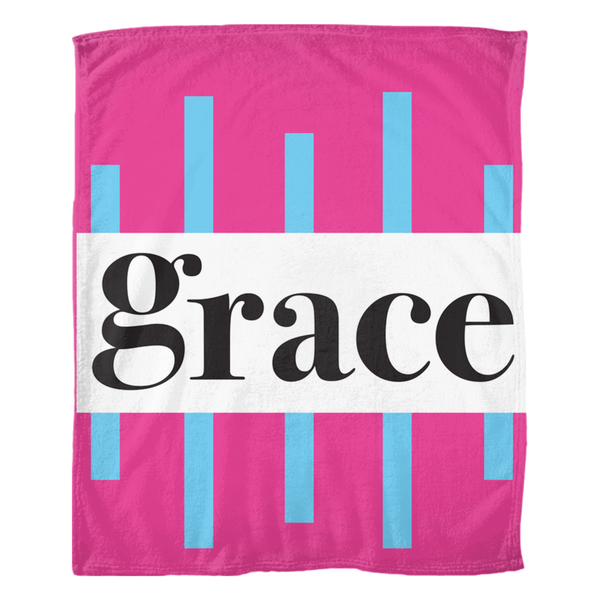 Grace Fleece Blankets - ComfiArt