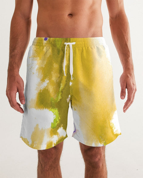 yellow soul Men's Swim Trunk - ComfiArt