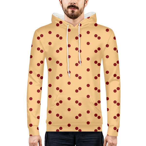 Dots Mens All-Over Print Hoodie - ComfiArt